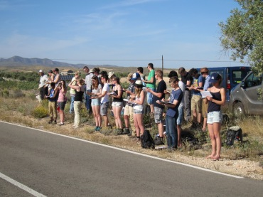 May 2015 - BSc Sorbas Excursion